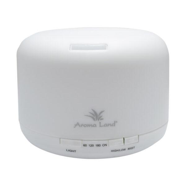 Difuzor Aromaterapie cu ultrasunete Relax, Aroma Land, 500 ml, 16W, D17x13